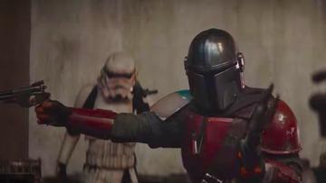 WATCH: 'The Mandalorian' is a gunslinging warrior in first