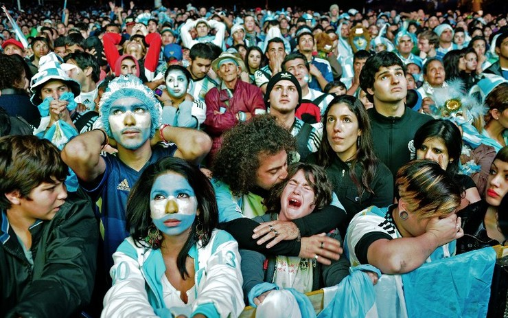 Tears, Cheers, Violence In Argentina After World Cup Defeat