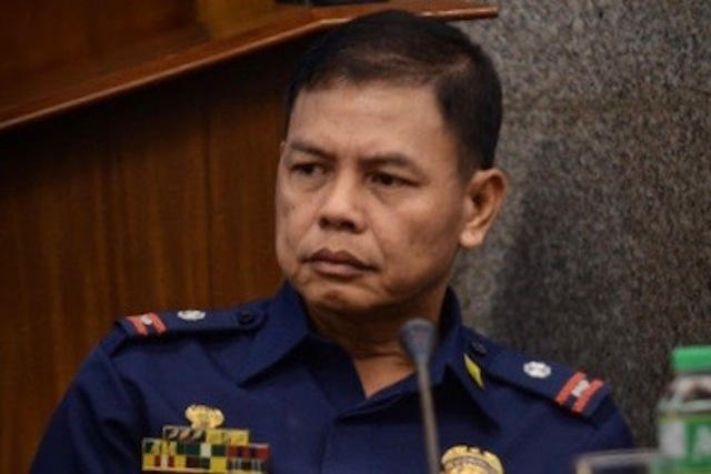 TARGETED. Lieutenant Colonel Jovie Espenido is named in the Duterte drug list. Rappler photo