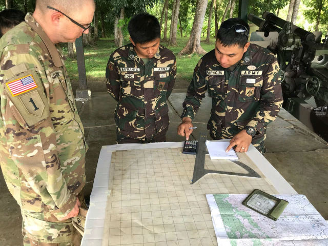 MILITARY ALLIANCE. Philippine and US troops hold 12-day lessons and exercises in Salaknib, a program that aims to boost the decades-long military alliance between Manila and Washington. All photos courtesy of the US embassy