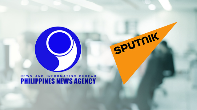 NEWS COOPERATION. The Philippine News Agency and Russia's Sputnik are expected to enter into an agreement on news cooperation.