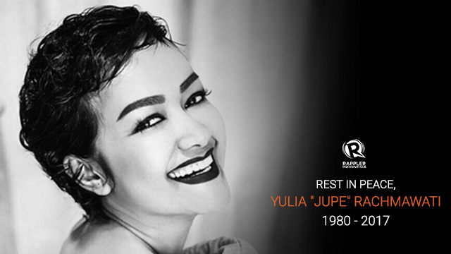 Indonesian singer and actress julia perez dies reheart
