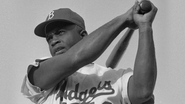 LEGENDARY Jackie Robinson Is The First Black Major League Baseball Player In History Photo