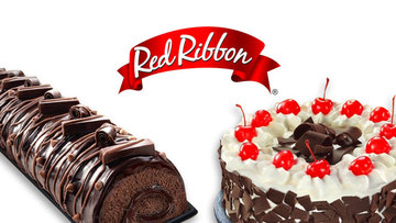 Astounding Red Ribbon Delivers Cakes Rolls Mamon From Select Ph Branches Funny Birthday Cards Online Inifofree Goldxyz