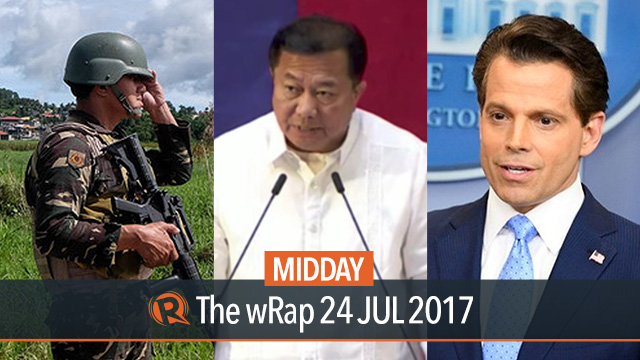 Marawi crisis, Alvarez, Scaramucci | Midday wRap