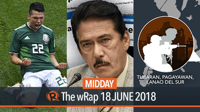 ISIS operatives, Tito Sotto, World Cup 2018 | Midday wRap