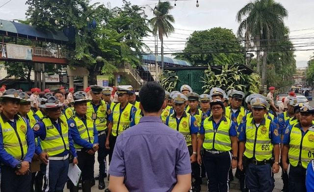 PASIG CHIEF. Pasig City Mayor Vico Sotto offers traffic enforcers a way to secure their tenure even as he warns them to 'straighten up' or face dismissal and prosecution. Photo from Sotto's Facebook page
