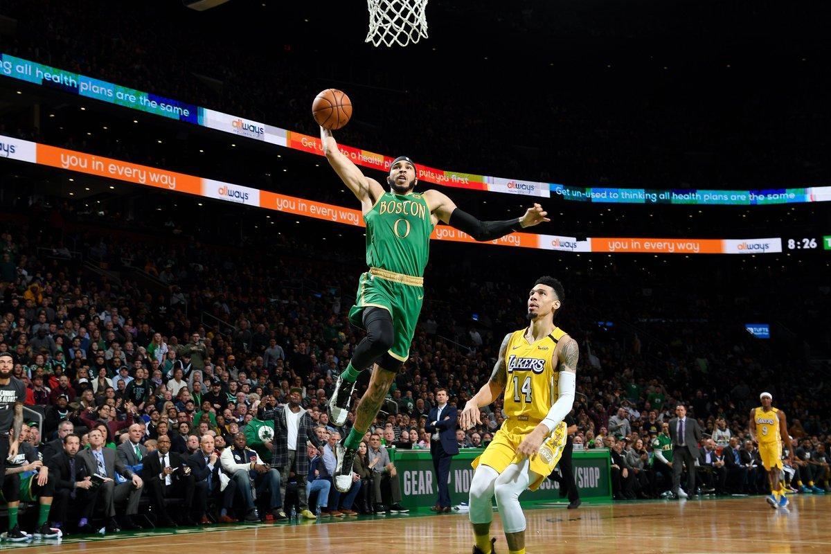 Celtics deal Lakers season's 'worst' defeat