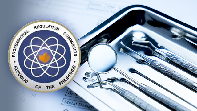 PRC Releases December 2015 Dentist Licensure Exam Results