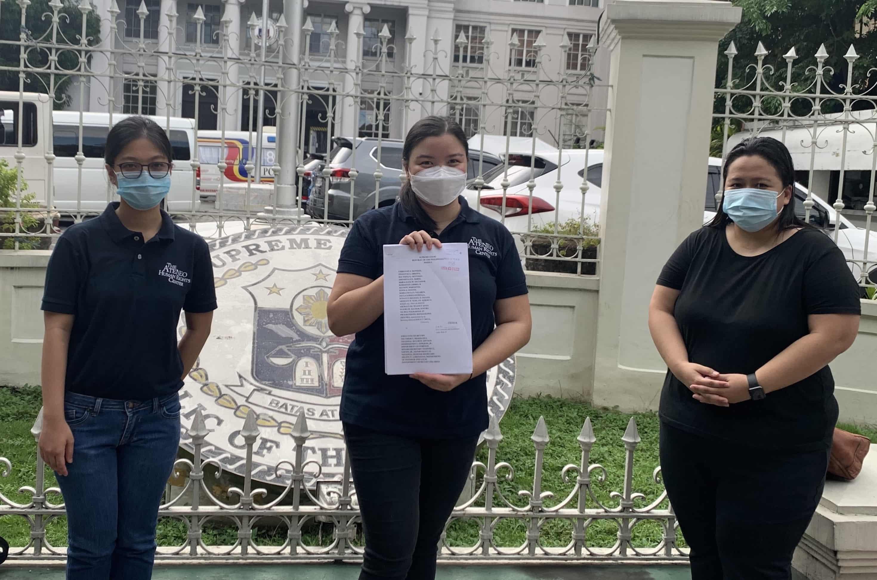 Constitution framers, Ateneo professors file 6th petition vs anti-terror law - Rappler