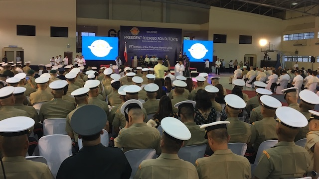 67TH. The Philippine Marine Corps celebrates its 67th year anniversary on November 7, 2017