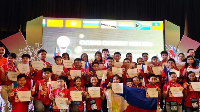 PH bags 35 math, science medals in Indonesia Olympiad