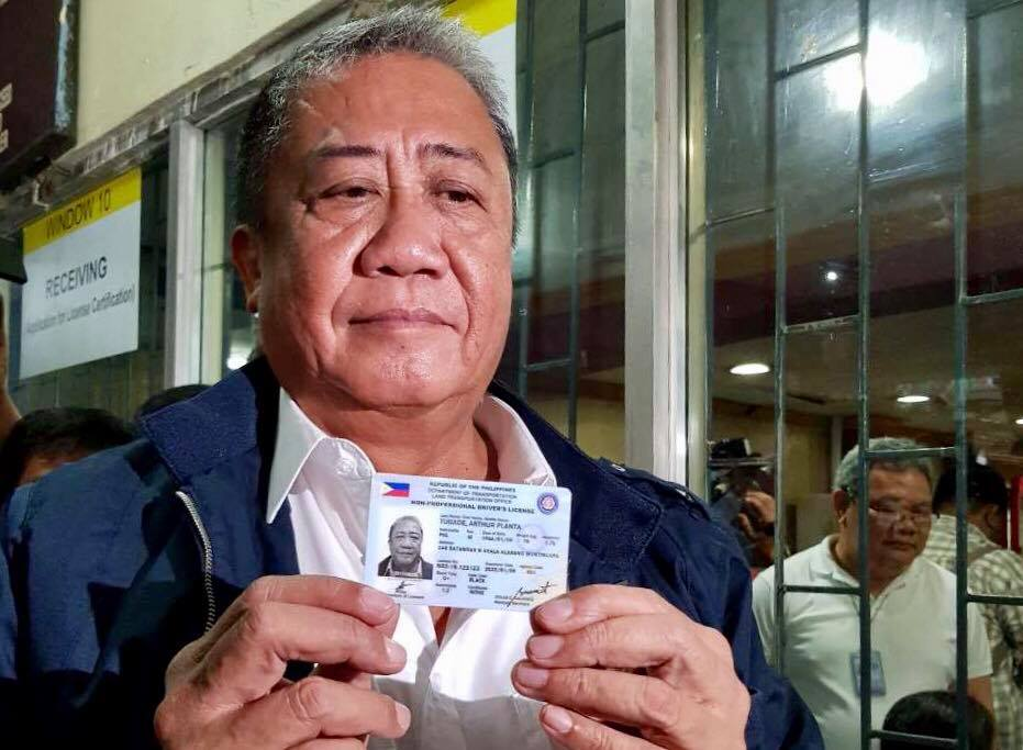 Drivers' Licenses 5 Years Rolls Valid For Lto Out