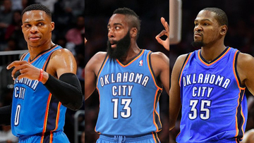 08932f85 These 3 NBA MVPs (from left to right) Russell Westbrook, James