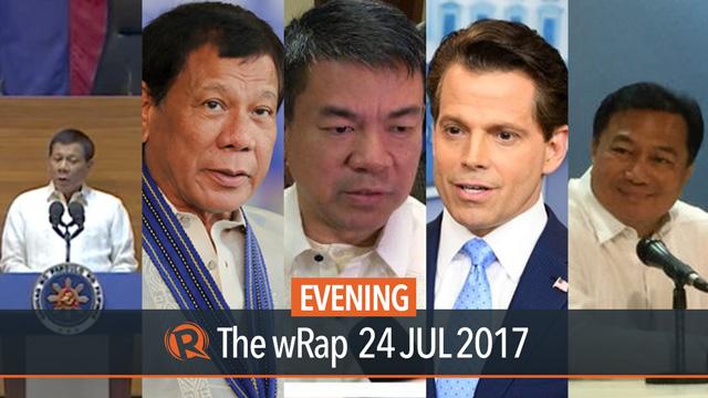 SONA 2017, Duterte on Rappler, death penalty | Evening wRap