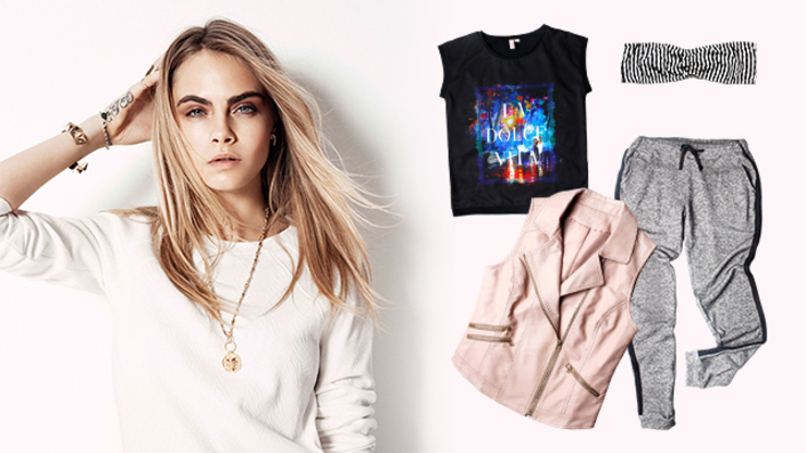 PHOTOS View The Cara Delevingne Penshoppe Collection
