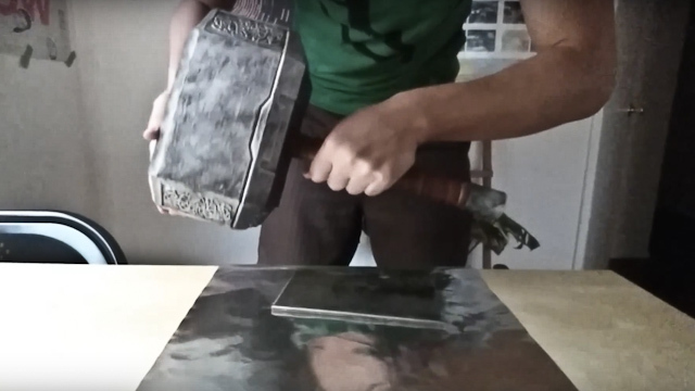 Watch Engineer Creates Real Life Touch Activated Thor S