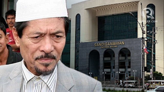 GHOST PROJECTS. Nur Misuari is facing graft and malversation charges over multi-million peso educational projects in the ARMM which turned out to have never been delivered.