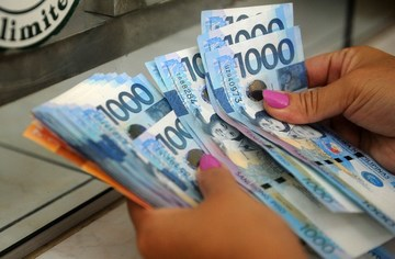 The Philippine Peso Continues To Lose Steam File Photo By Afp