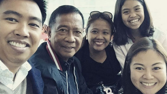 A year after defeat, Jejomar Binay back to what he loves most