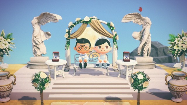 How An In Game Animal Crossing Wedding Came To Be
