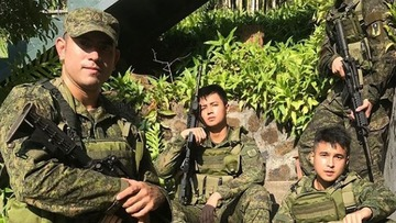 Gerald Anderson now a reservist for the Philippine Army
