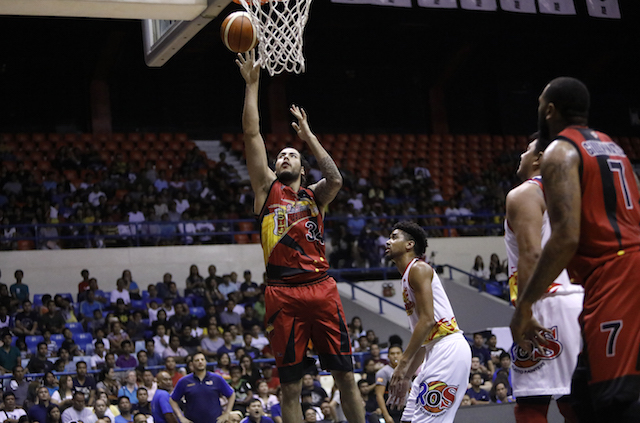 Standhardinger likens PBA to a combo of boxing, martial arts