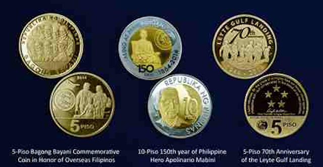 BSP To Issue Mabini, Pope Francis Coins