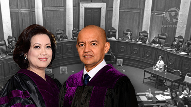 Image result for justice leonen and sereno