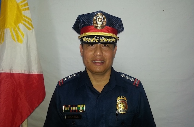 RELIEVED. Senior Superintendent Oscar Nantes is replaced by Superintendent Restituto Lacano in an OIC capacity. Photo from the Facebook page of Oscar Nantes