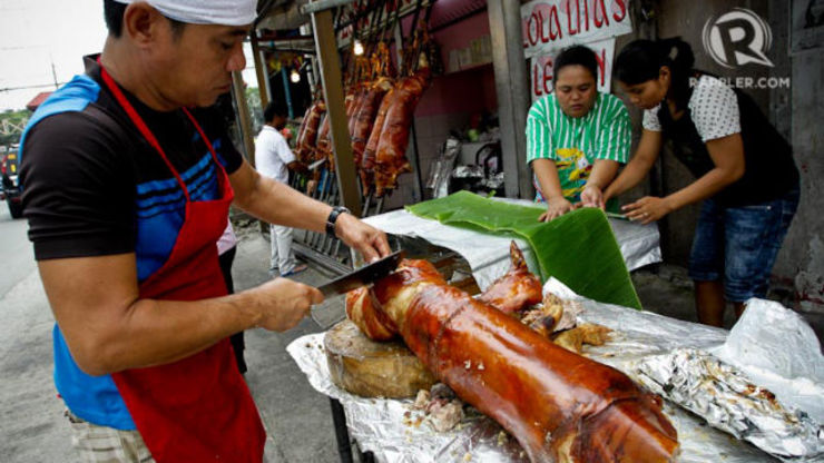 In Photos The Great Lechon Festival Of La Loma
