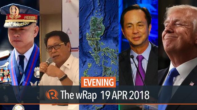 Albayalde on PNP, Bello on 'endo,' Trump on Kim | Evening wRap