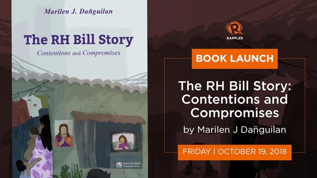 WATCH: Book launch of 'The RH Bill Story: Contentions and Compromises'