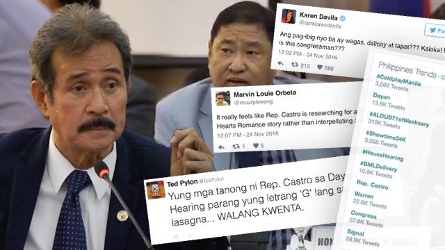 Netizens on Dayan, De Lima questions: 'Papa Jack', 'crossing the line'