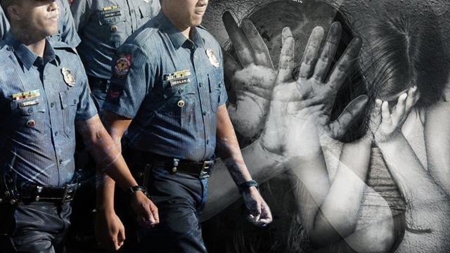 SERVE AND PROTECT Cops get involved in ***** cases despite a thrust against sexual crimes Police photo by Darren LangitRappler Shutterstock photos