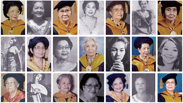 Get to know the women National Artists and Scientists