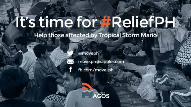 #ReliefPH: Time to help #MarioPH evacuees