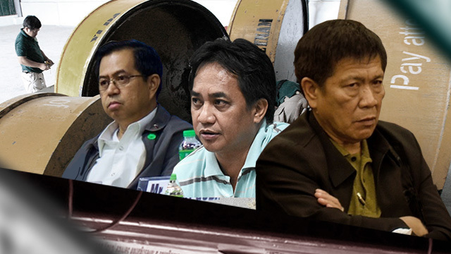CONNIVANCE? Former members of the government's 3 anti-drug agencies are implicated in the alleged smuggling of shabu inside the Philippines. Graphic by Ken Bautista.