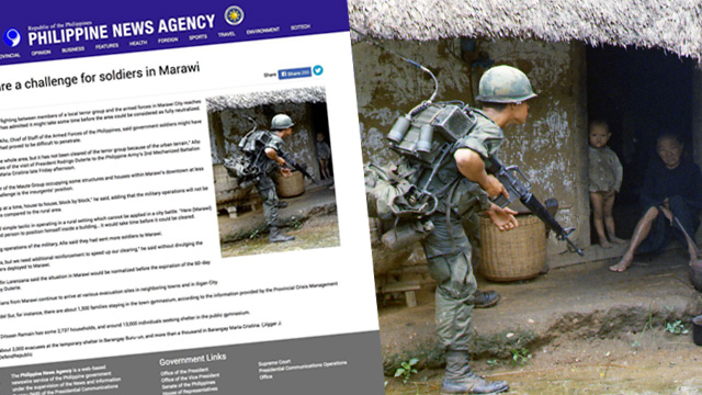 Philippine News Agency uses Vietnam photo in Marawi siege ...