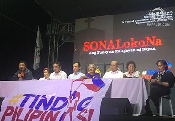 Opposition slams Duterte's 'defeatist' SONA 2018