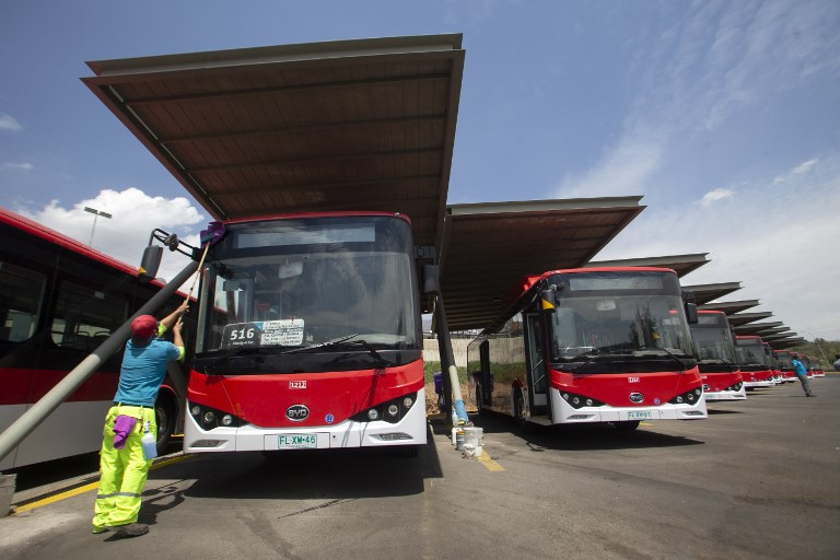 Chile accelerates transition to electric public transport