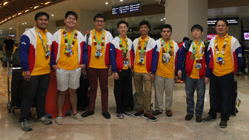 Philippine Team wins medals in International Mathematical