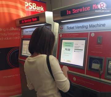 MRT, LRT ticketing machines now accept new peso coins