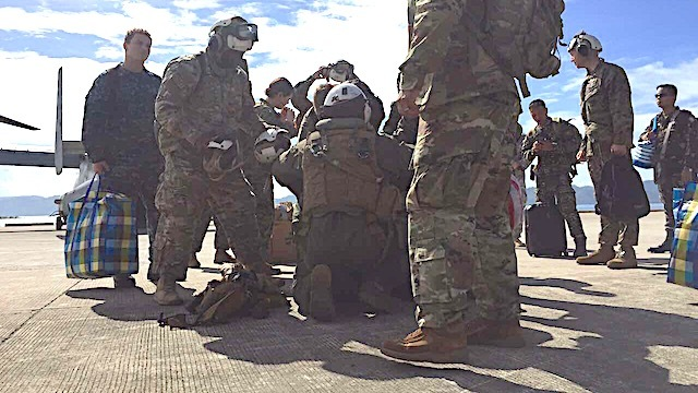 DISASTER RESPONSE. Up to 2,600 US troops are in the Philippines for Balikatan 2017. Photo by Bea Cupin/Rappler