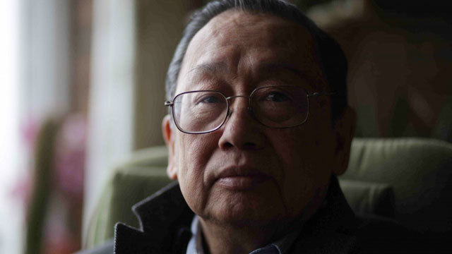 WORD WAR. Communist Party of the Philippines founder Jose Maria 'Joma' Sison calls President Rodrigo Duterte the 'number one drug addict' in the Philippines.