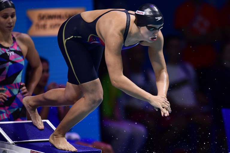 Ledecky wins 13th gold as USA rule world pool