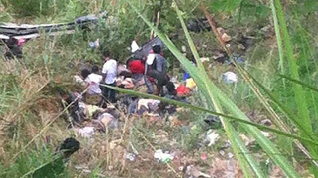 BREAKING NEWS! At least 24 dead in Nueva Ecija bus crash