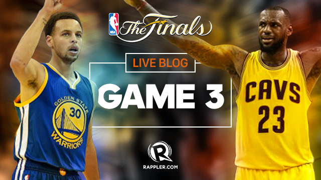 HIGHLIGHTS: Warriors vs Cavaliers NBA Finals Game 3