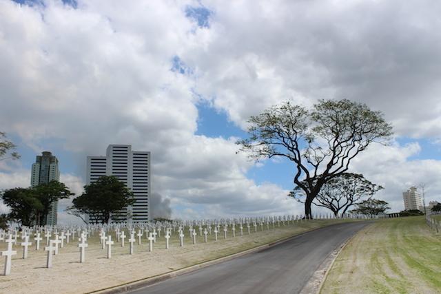 Lokasi pemakaman ini terletak di Fort Bonaficio. Foto oleh Lewi Aga Basoeki/Rappler