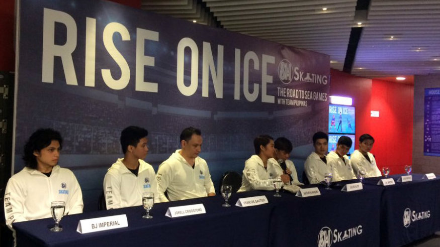 PH ice athletes aim to bag gold medals in SEA Games